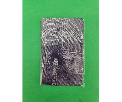 Блокнот в клетку «Джинс» 160 листов формат А-6  (1 шт)
