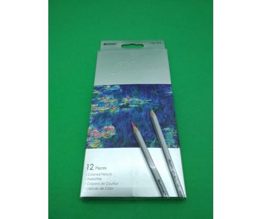 "Набор цветных карандашей 12 цветов ""Raffine"" Marco 7100-12CB (1 пач)"