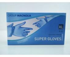 Перчатки Нитрил Синий(100шт) XL (1 пач)