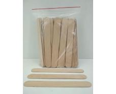 Шпатели деревянные для косметических процедур (150*17*1,6) 100шт (1 пач)