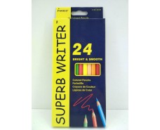 Набор цветных карандашей 24 цвета