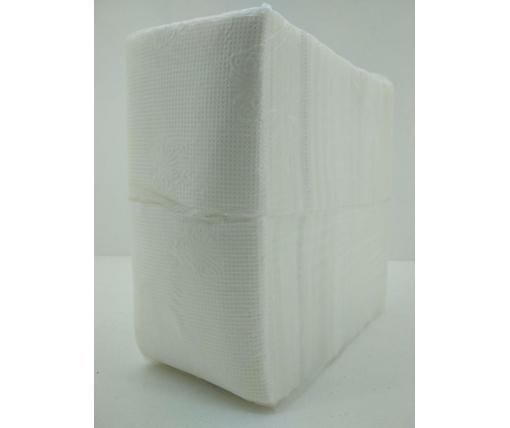 Бумажная салфетка 280 лист Фуршет(бабочка) однотонная (1 пач)