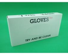 Одноразовые перчатки (500шт) коробка (1 пач)