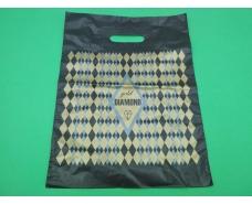 Пакеты с вырубной ручкой (30*40) DIAMOND маленький  (50 шт)