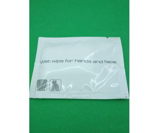 Влажная салфетка для рук и лица 60*80мм (1 пач)