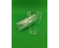 Стакан стеклоподобный (без ножки) 300 гр прозрачный 36Х20 (20 шт)