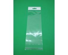 Пакет прозрачный полипропиленовый + скотчк  9*24+3\25мк +скотч(+еврослот3,5) (1000 шт)