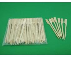Шпажка бамбуковая Гольф  9см,100 шт (1 пач)