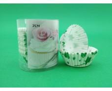 Бумажные формочки для выпечки кексов (7см) 150шт  (1 уп.)