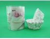 Бумажные формочки для выпечки кексов (8см) 100шт  (1 уп.)