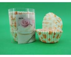 Бумажные формочки для выпечки кексов (9см) 150шт  (1 уп.)