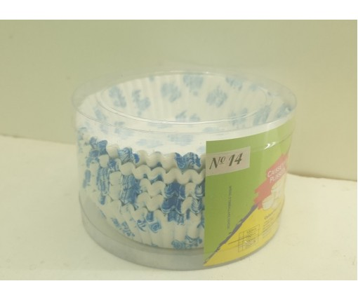 Бумажные формочки для выпечки кексов (14см) 150шт  (1 уп.)