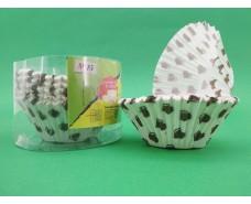 Бумажные формочки для выпечки кексов (15см) 150шт  (1 уп.)