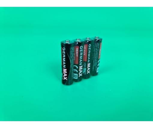 Батарейка Германия (АА R6) солевые(Б-4) (4 шт)