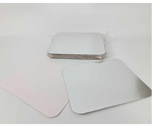 ᐉ Крышка на алюминиевый контейнер на форму артикул SP98L 50 штук (1 пач)