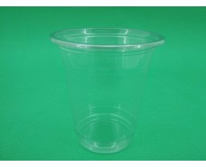 Стакан одноразовый РЕТ350 плотный, прозрачный, 350мл (50 шт)