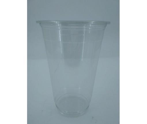 Стакан одноразовый РЕТ500 плотный, прозрачный, 500мл (50 шт)