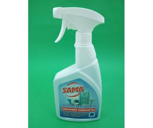 Моющее средство для ванной комнаты спрей САМА 500мл (1 шт)
