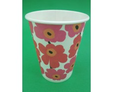 Стакан бумажный для кофе и чая 250 мл № 4 Маки (50 шт)