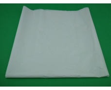 Скатерка (105x200) Однотонная БЕЛАЯ (25 шт)