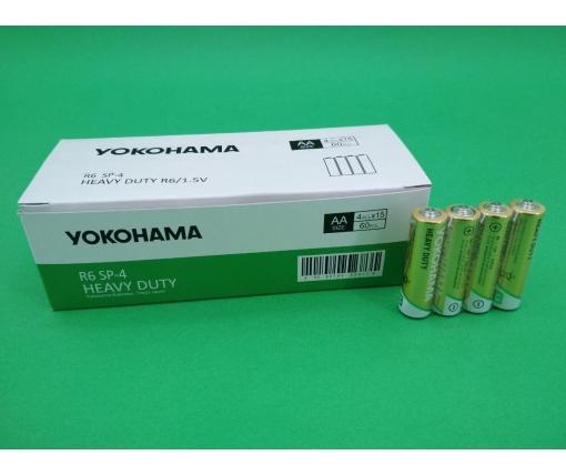Батарейка Yokohama (АА R6) солевые (Б-4) (4 шт)