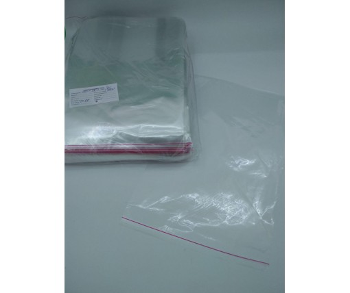 Пакет прозрачный полипропиленовый + скотч  25*35+4\25мк +скотч (1000 шт)