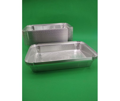Алюминиевый контейнер для пищевых продуктов 2100 млл SP88L 50 штук