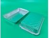 Контейнер из пищевой алюминиевой фольги прямоугольный 2100 мл SP86L 50 штук (1 пачка)