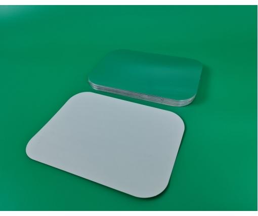 ᐉ Крышка на алюминиевый контейнер на форму артикул SP86L 50 шт  (1 пач)