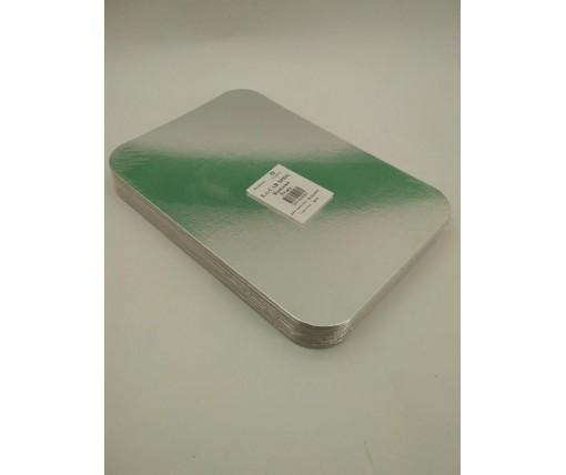 Крышка на алюминиевый контейнер на форму артикул SP86L 50 штук в упаковке