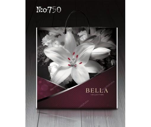 """П/э пакет- *пластик б """"Бэлла 750 (10 шт)"""