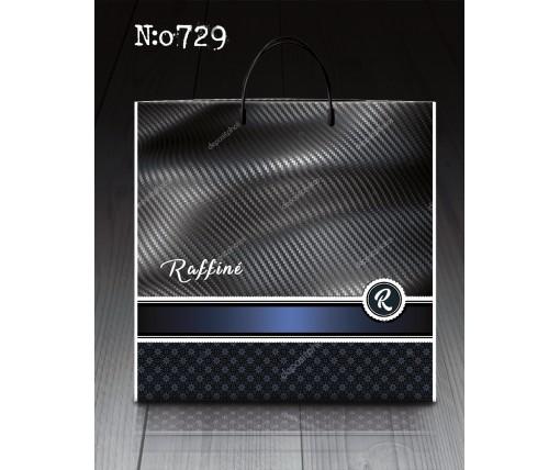 """П/э пакет- *пластик б """"Раффине 729 (10 шт)"""