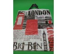 """Пакет с петлевой ручкой  (38*44) """"Лондон""""  (25 шт)"""