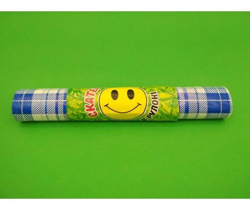 Скатерка (110x180) КЛЕТКА синяя  (5 шт)