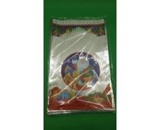 фольгированный пакет Н.Г (25*40) №25 Новый Дед Мороз в санях (100 шт)