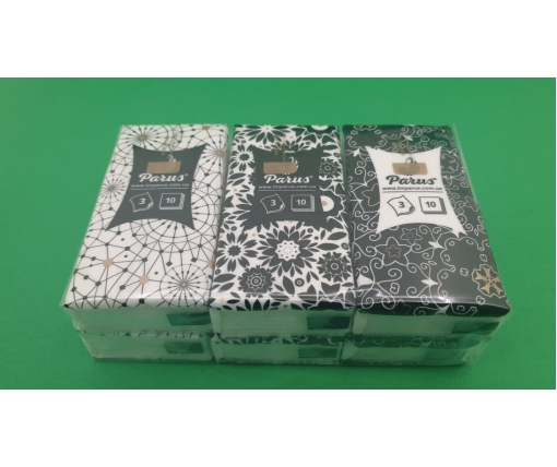 ᐉ Бумажный  носовой платок  3х слойный (Без аромата) Одесса (6 шт)