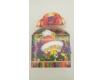 Новогодняя коробка для конфет №244(Бант Гномик) на 500 грам (25 шт)