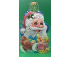 Коробка под конфеты №236(Веселых Свят )на 700 грам (25 шт)