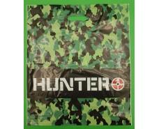 """Пакет с прорезной ручкой (45*53+3)""""Hunter""""Леоми (50 шт)"""