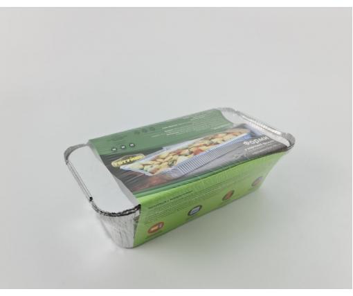 ᐉ Комплект контейнеров алюминиевых, прямоугольных с крышками 900мл SP62L&Lids/3шт (1 пачка)