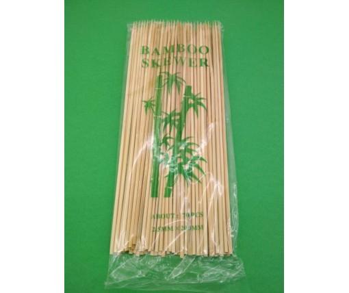 Бамбуковая Палочка для шашлыка (70шт) 20см 2.5mm (1 пач)