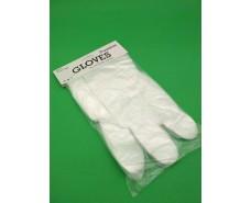 Одноразовые перчатки (100шт) премиум  GLOVES (1 пач)