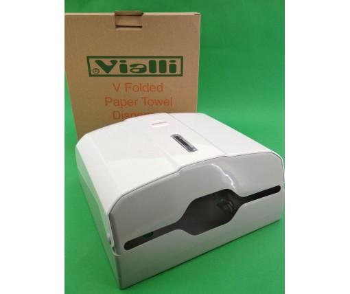 Пластиковый держатель бумажных полотенец V-сложения (1 шт)
