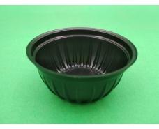 Соусник черный пластиковый  ПС-390 (V50мл)Ф66/h30 (105 шт)