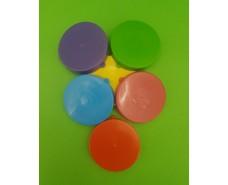Крышка Цветная пластмасовая (для холодного) (1 шт)