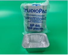 Алюминиевый контейнер прямоугольный 586мл SP44L 100шт/уп (1 пач)