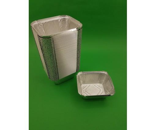 ᐉАлюминиевый контейнер  прямоугольный 586 мл SP44L 100 штук в упаковке