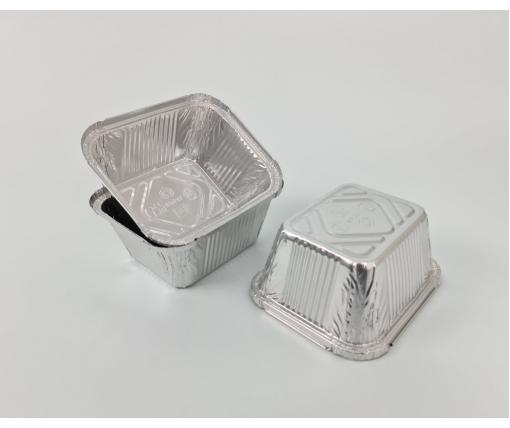 ᐉ Алюминиевый контейнер прямоугольный 586мл SP44L 100шт/уп (1 пач)