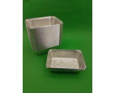Контейнер алюминиевый прямоугольный 1300 мл SP74L 100 штук  (1 пач)