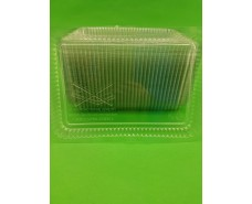 Крышка на контейнер алюминиевый 100шт На форму артикул SP74L/SP64L (1 пач)